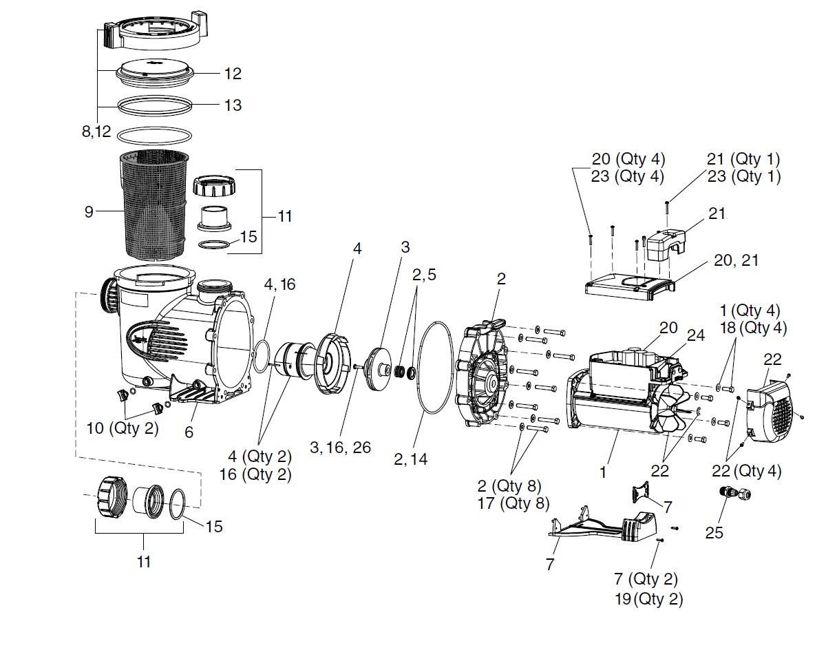pump filter diagram