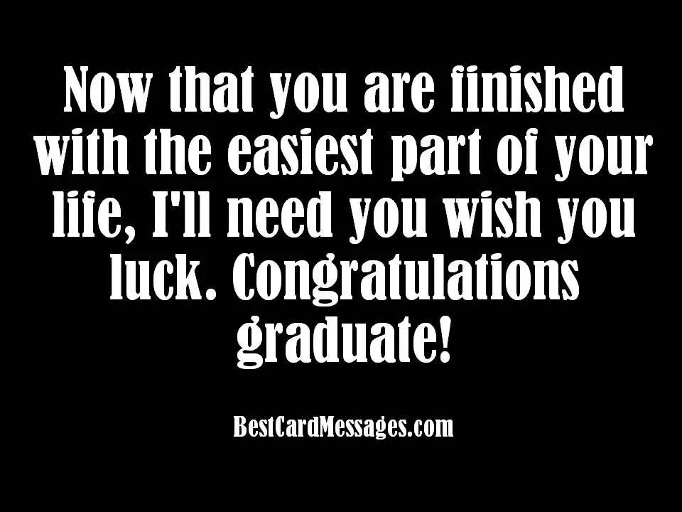 Graduation Card Messages - congratulation graduation