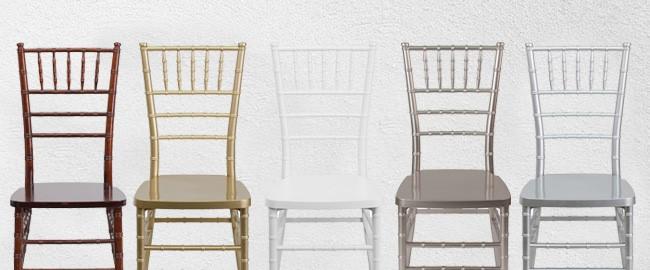 Chiavari Chairs - Wedding, Ballroom, Event Seating