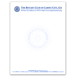 A Letterhead Template Free Sample Attorney Letterhead Template Rotary Letterhead Custom Rotary Club Supplies Russell