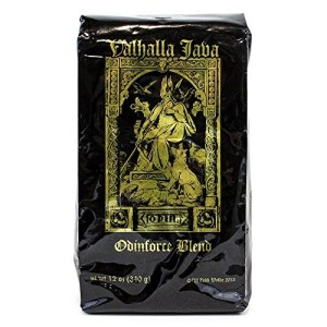 Valhalla Java Ground Coffee, Fair Trade and USDA Certified Organic