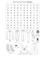 Word Search Puzzle Clothes Download Free Word Search Puzzle Clothes