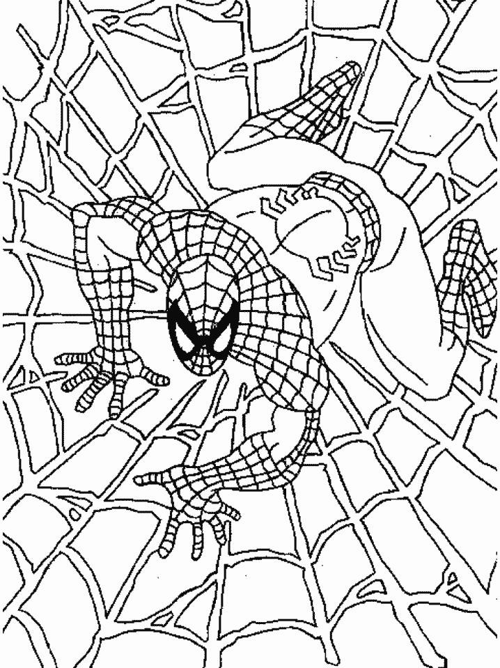 spiderman printable coloring pages - Klisethegreaterchurch