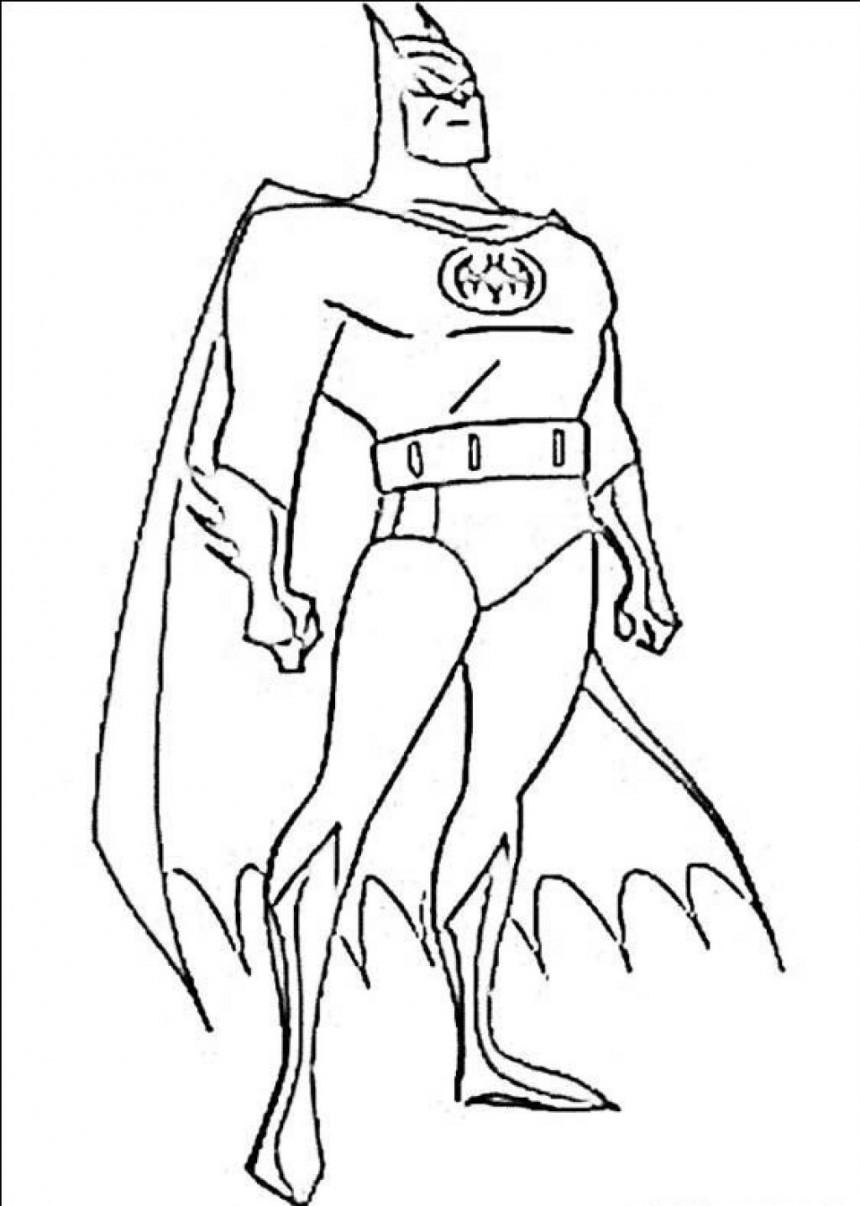 Coloring pages batman