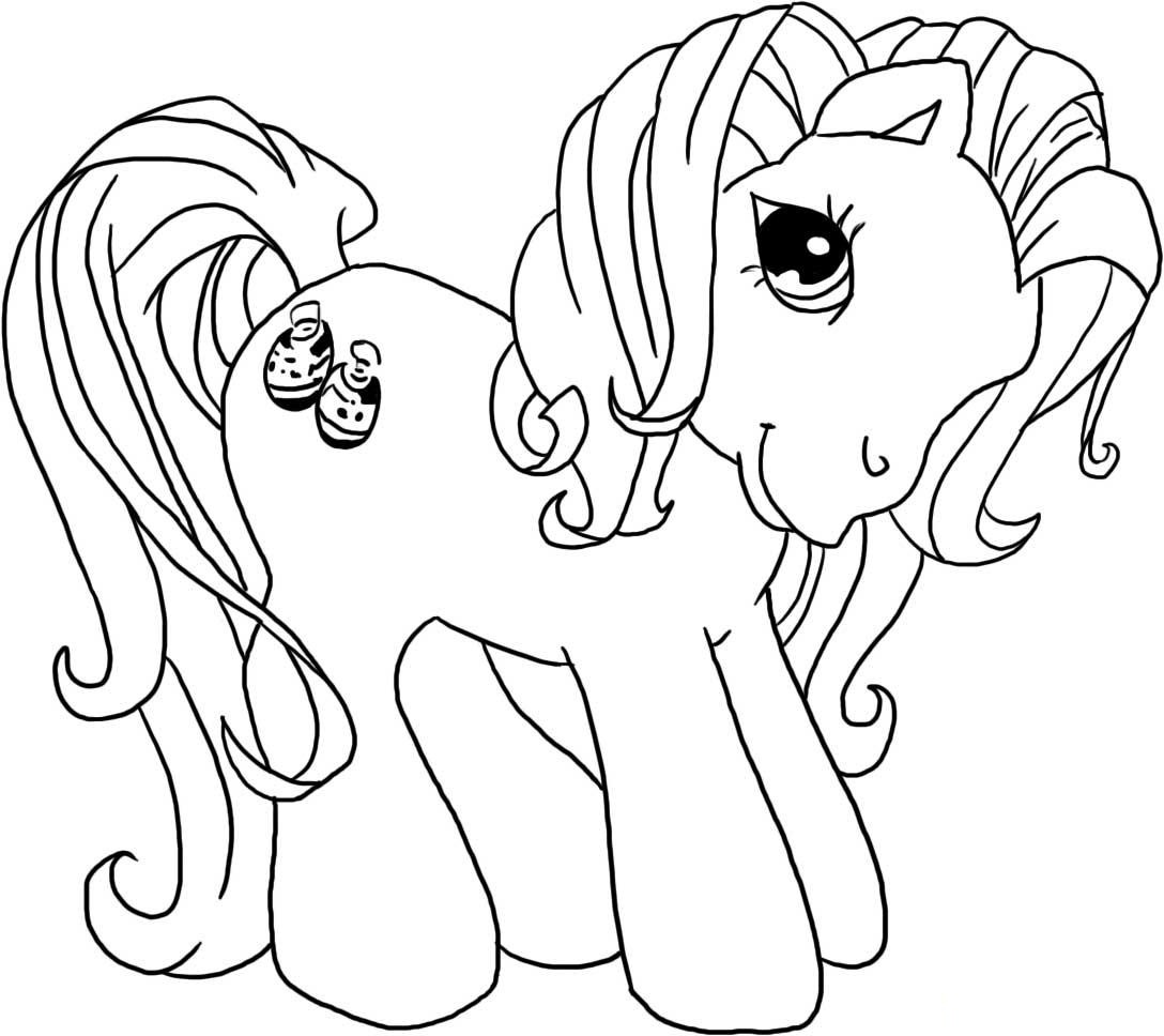 Hub my little pony coloring pages