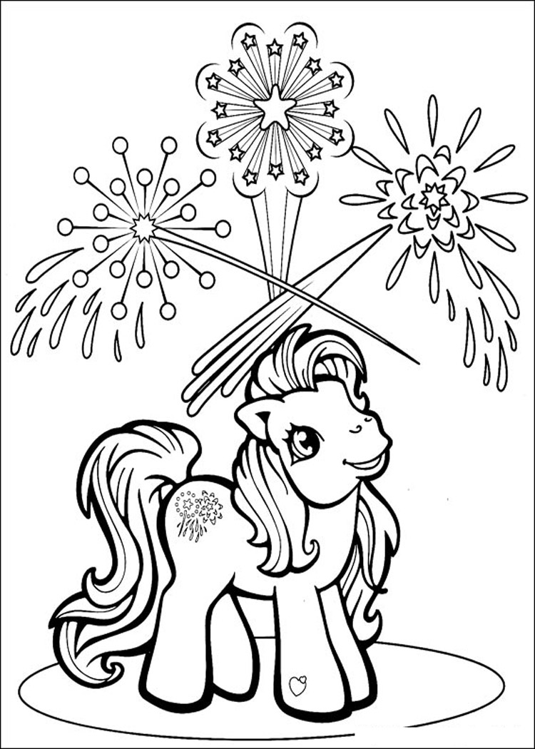 Vintage my little pony coloring pages -  My Little Pony Christmas Coloring Pages Download