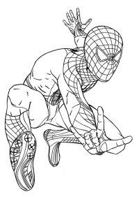 Spider Man Lizard Colouring Pages | Murderthestout