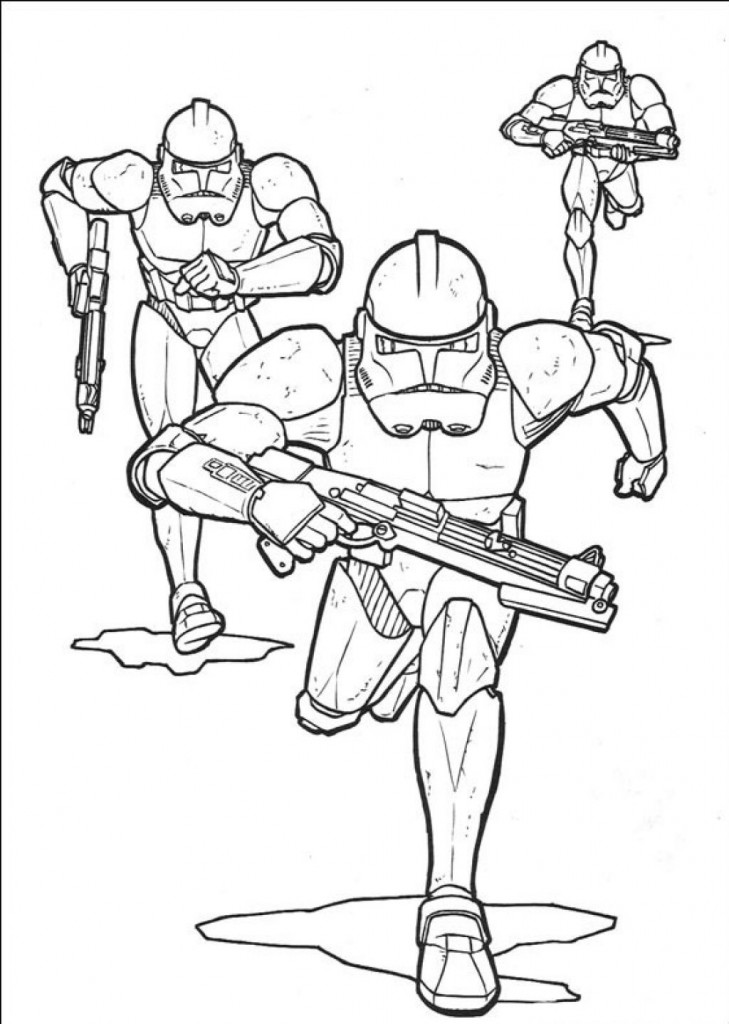 Star wars ewoks colouring pages