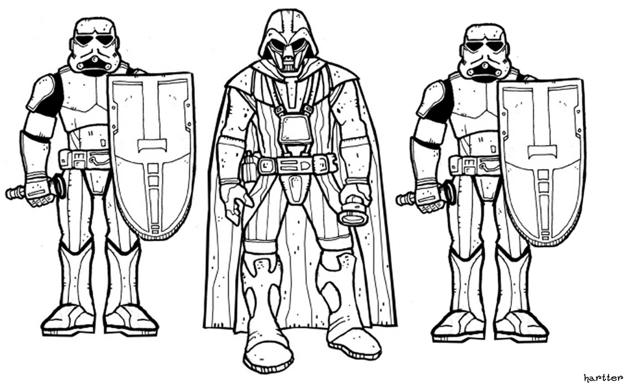 Clone Wars Coloring Pages - Eskayalitim
