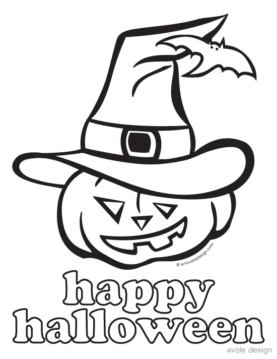 Free Printable Halloween Coloring Pages For Kids - halloween coloring book pages