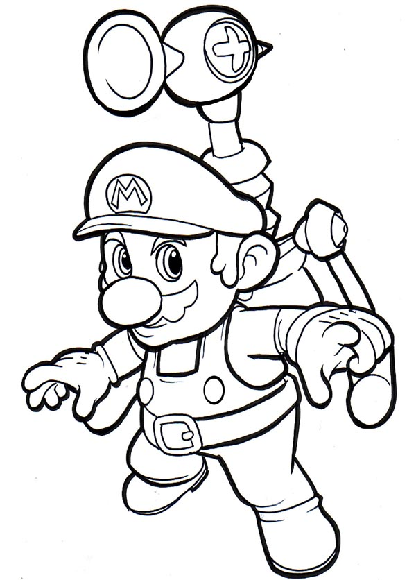 Free Printable Mario Coloring Pages For Kids - mario coloring pages