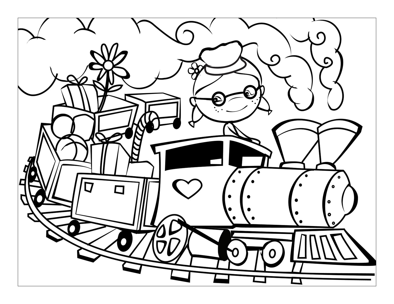 Coloring for adults cars - Adult Coloring Books Of Cars Train Cars Coloring Pages