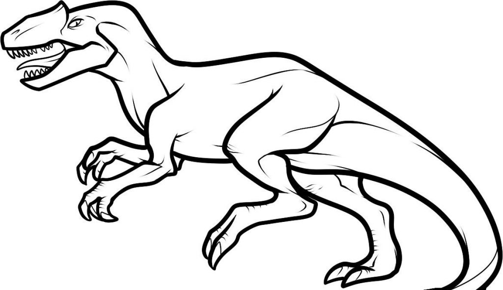 Free Printable Dinosaur Coloring Pages For Kids - coloring dinosaur