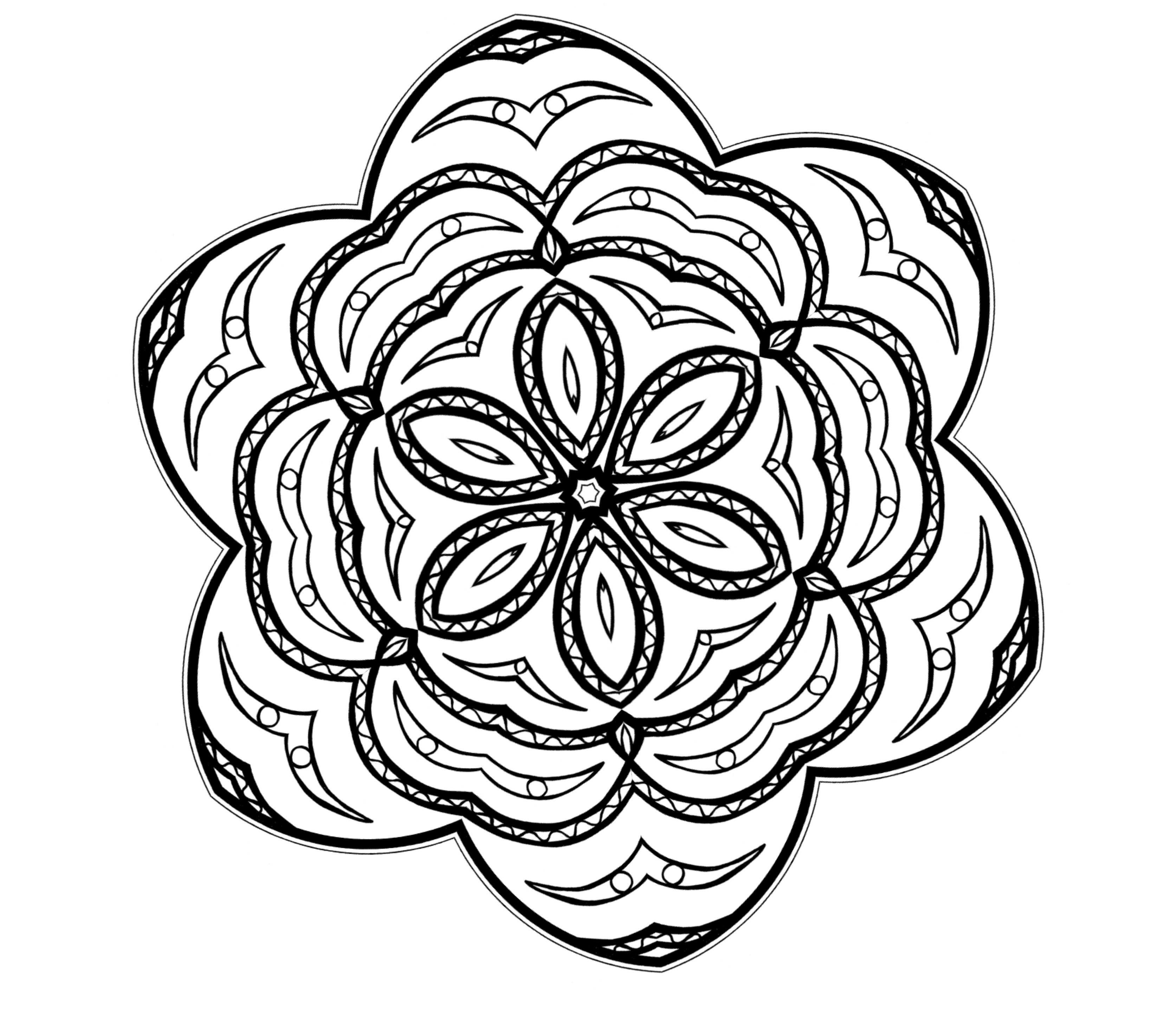 Free coloring pages kaleidoscope designs - Free Coloring Pages Kaleidoscope Designs