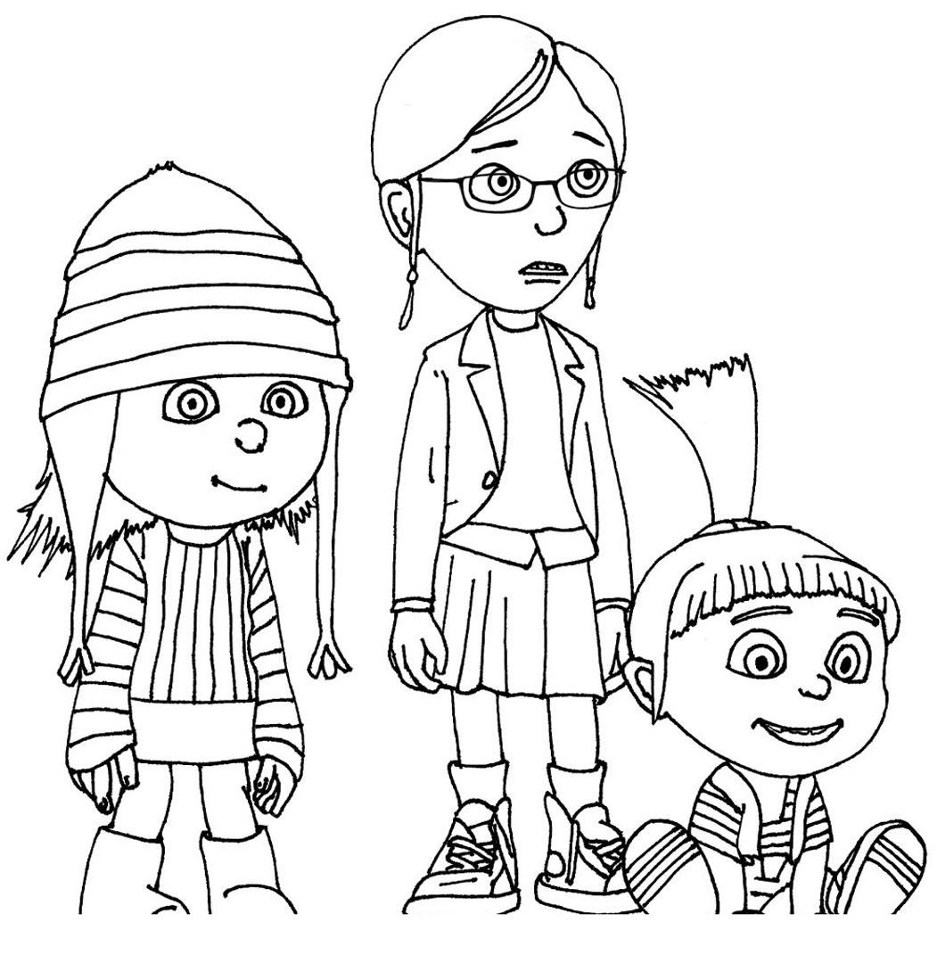 Free Printable Despicable Me Coloring Pages For Kids