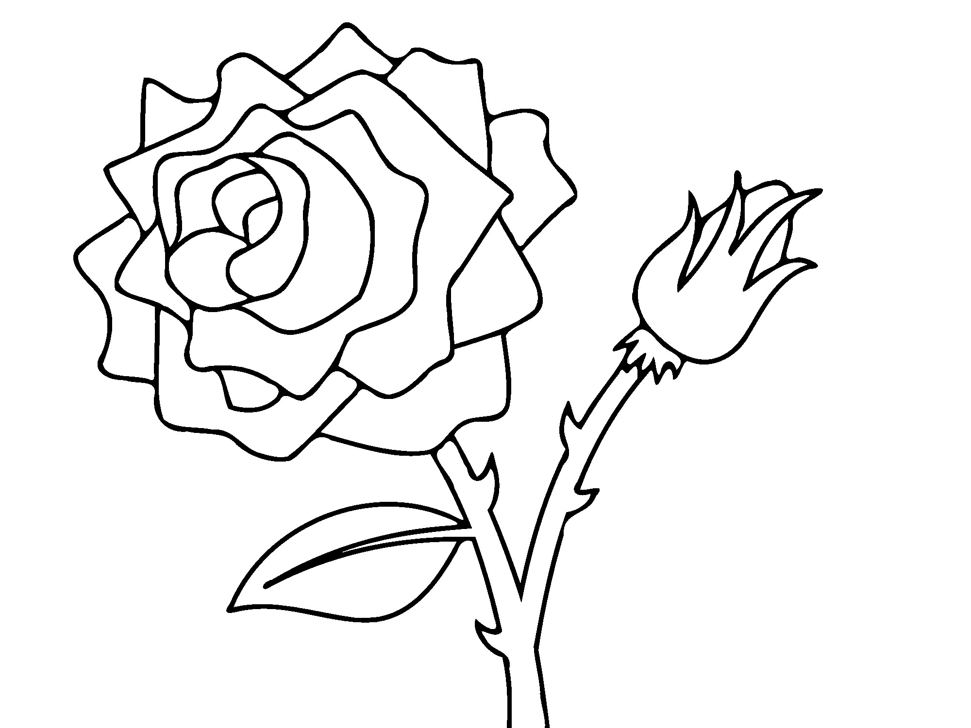 Flower Bed Coloring Pages