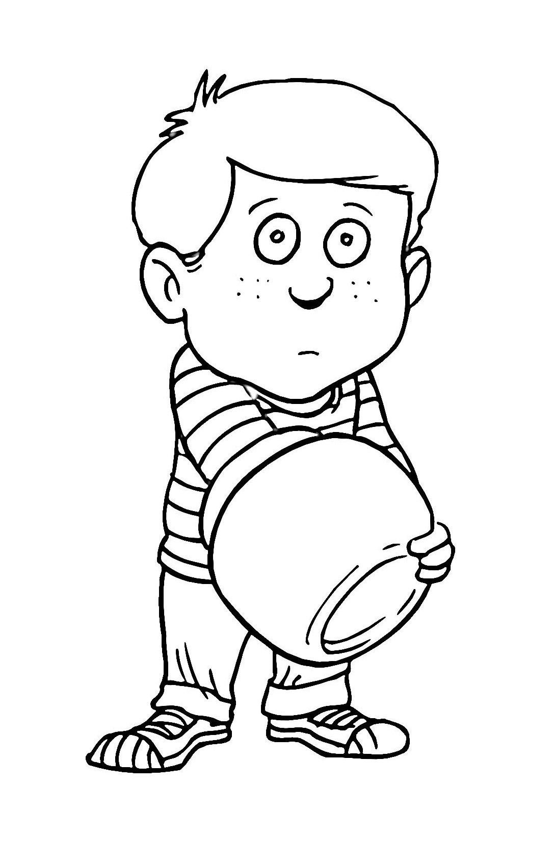 Coloring Pages Kids Boys - Eskayalitim