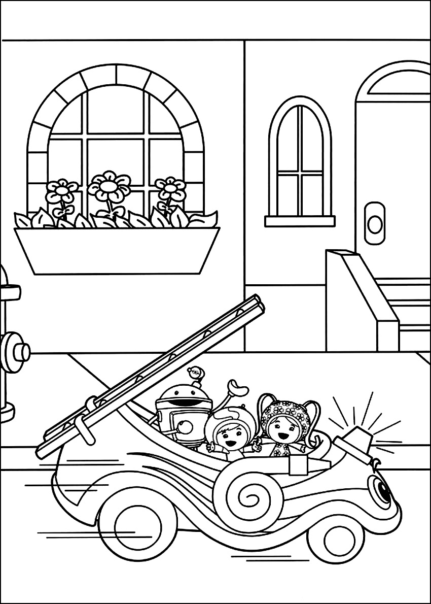 printable coloring pages team umizoomi