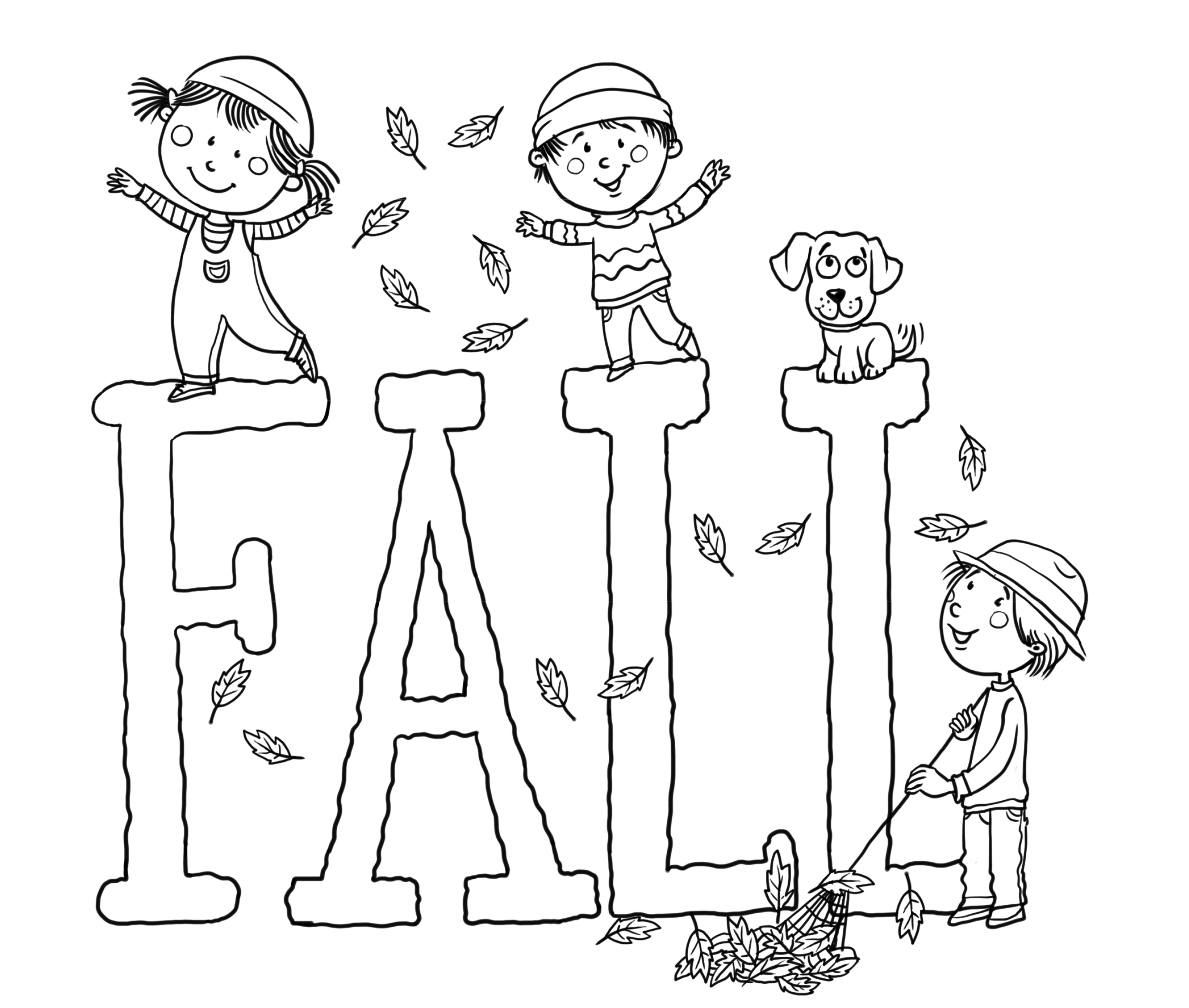 fall coloring sheets printable pages free harvest pictures
