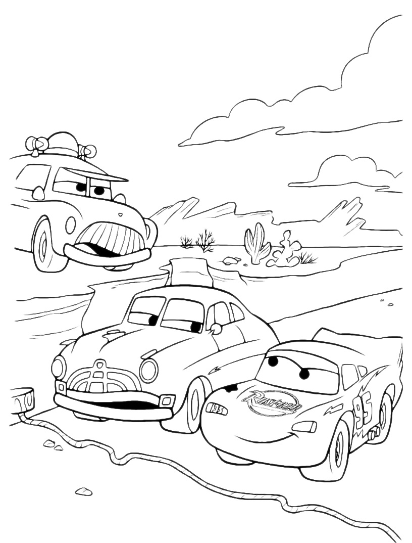 printable coloring pages lightning mcqueen