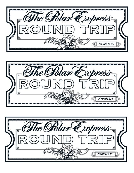 Polar Express Ticket Coloring Sheet Coloring Pages - printable ticket paper