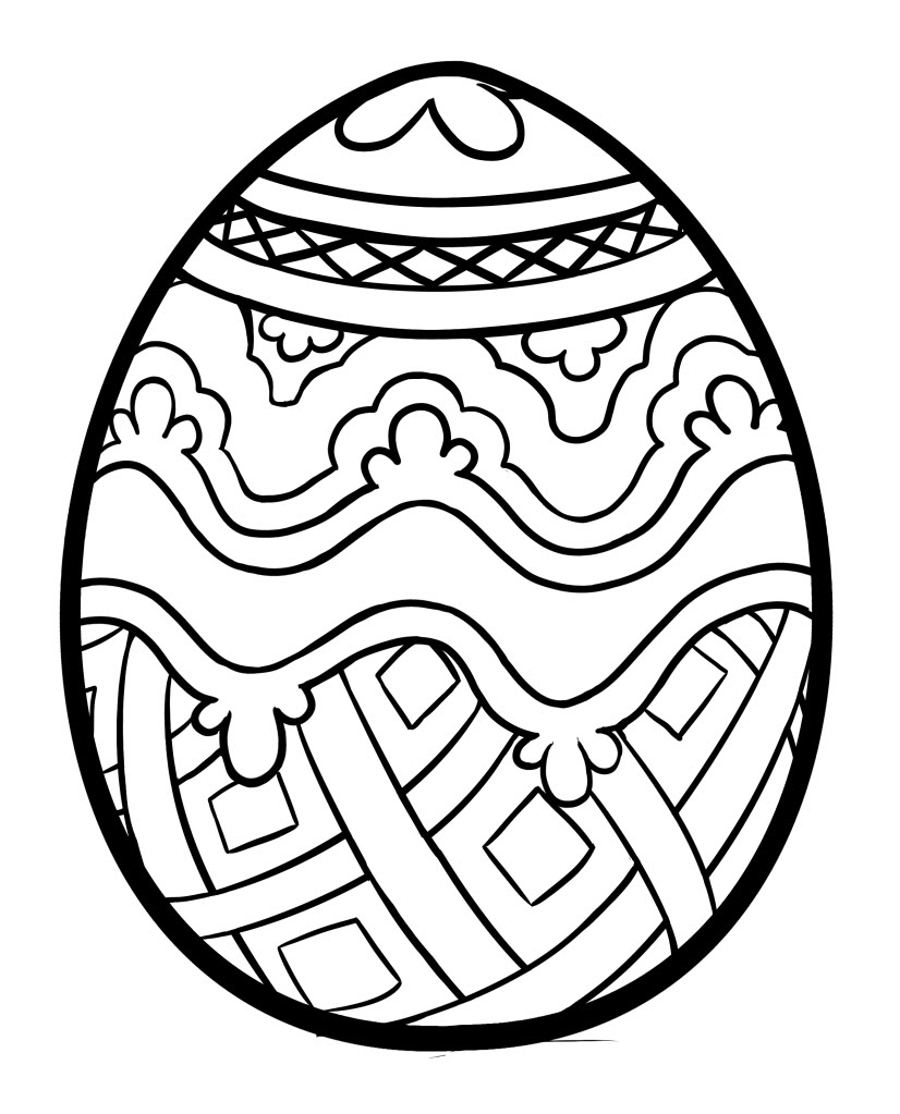 Easter pages to color free - Download Easter Pages To Color Free