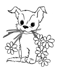 Puppy Coloring Pages - Best Coloring Pages For Kids