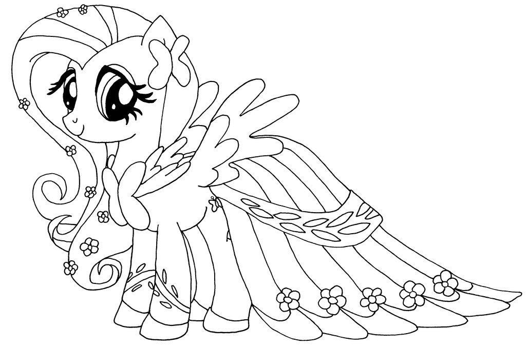 Fluttershy Coloring Pages - Best Coloring Pages For Kids - best of coloring pages of king and queen