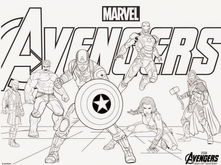 Marvel Coloring Pages - Castrophotos