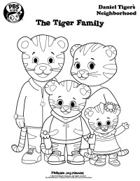 Daniel Tiger Coloring Pages - Best Coloring Pages For Kids