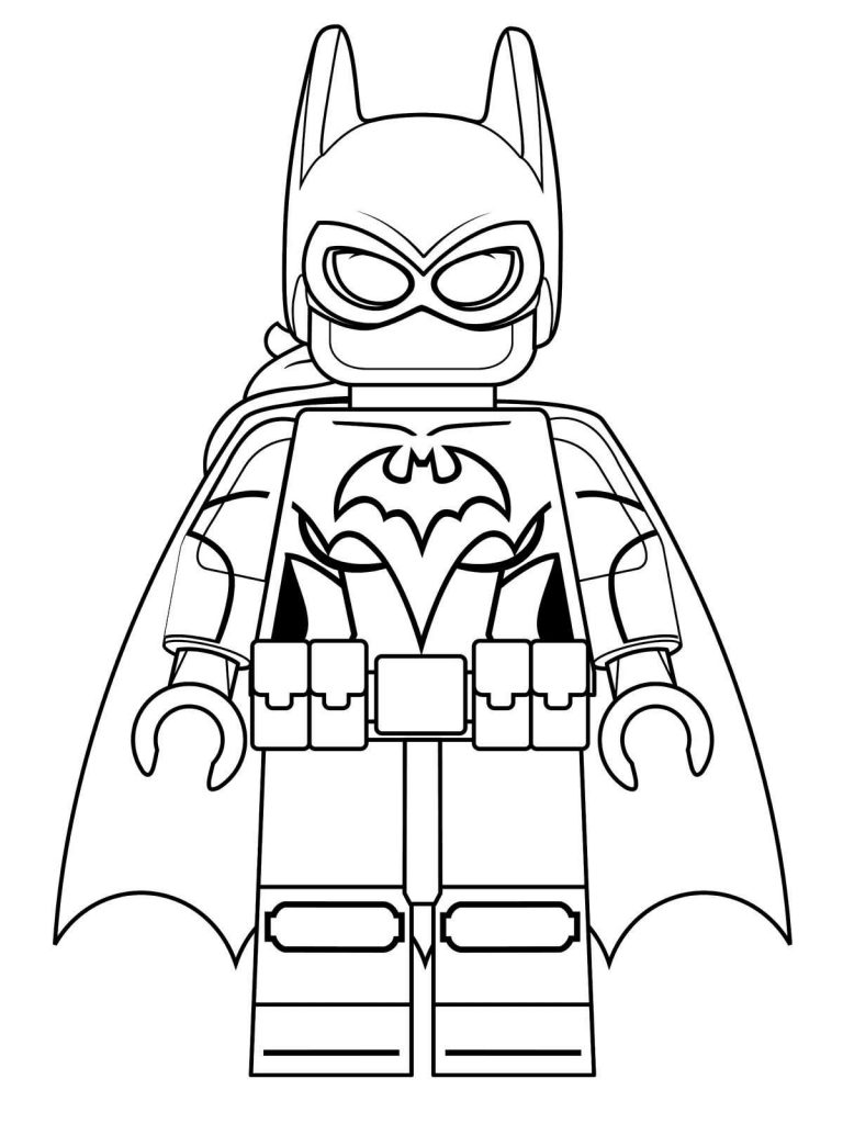 Batman And Robin Lego Coloring Pages Printable Auto Electrical Griffin Itrip Wiring Diagram