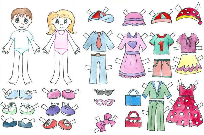 barbie clothes template printable  barbie clothes template
