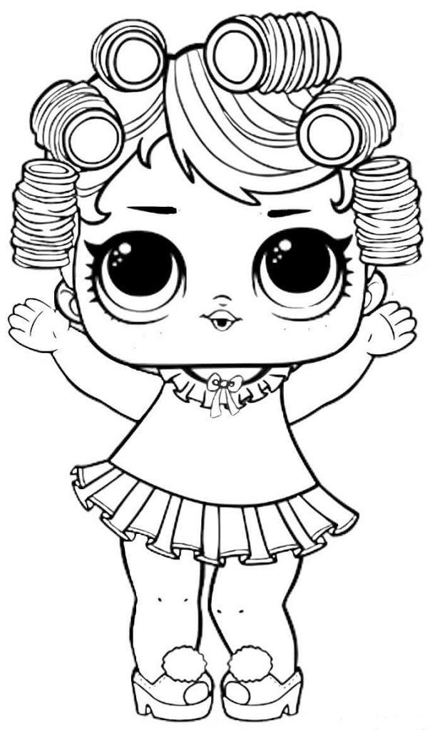 coloriage poupee lol cute lol surprise pets dessin