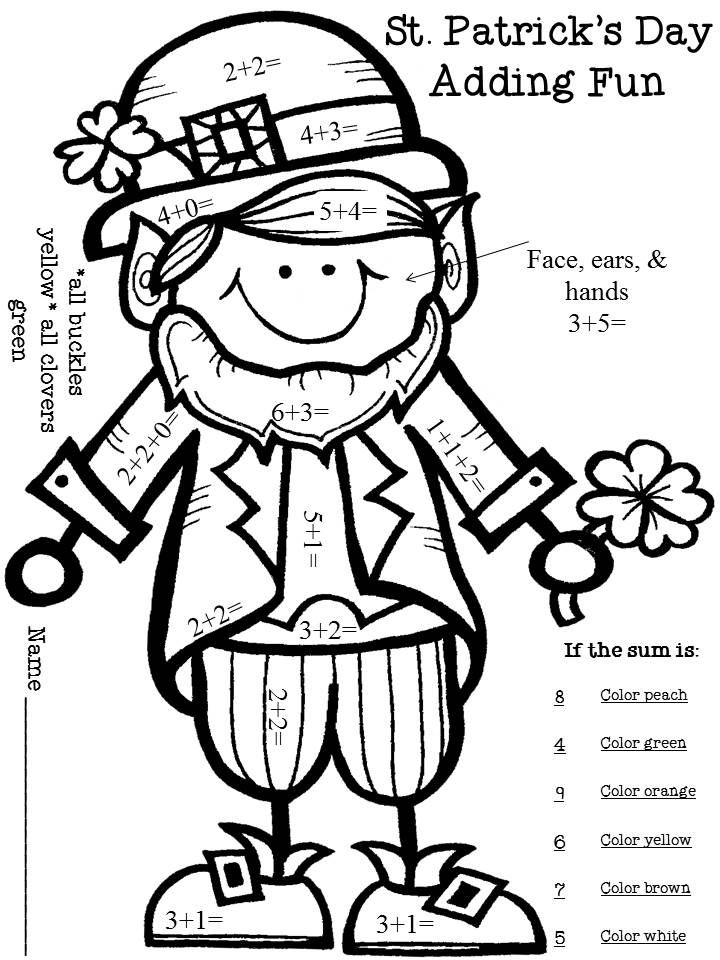 St Patricks Day Puzzles - Best Coloring Pages For Kids