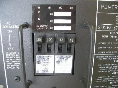 Parallax 6730D 30 Amp Power Center W/Door