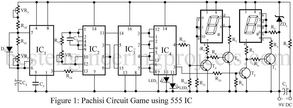 pachisi game circuit