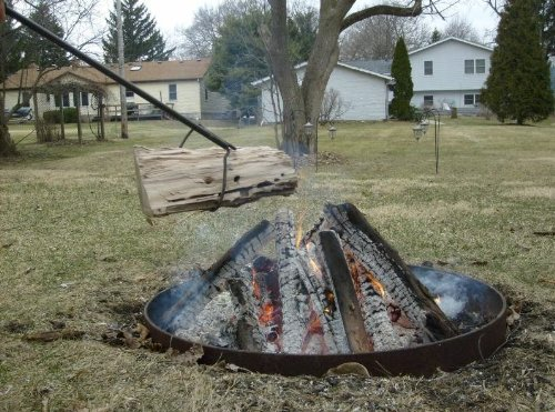 Best And Coolest 19 Fire Pit Logs In 2019