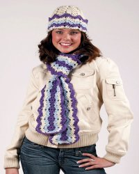 Free Crochet Patterns Scarves Hats ~ Traitoro for