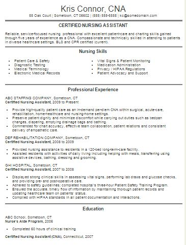 10 Best Nursing Resume Templates - resource nurse sample resume