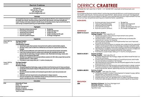 Business Analyst Resume Tips and Samples - sample business analyst resume