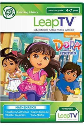 LeapFrog-LeapTV-Nickelodeon-Dora-and-Friends-Educational-Active-Video-Game-by-LeapFrog-0