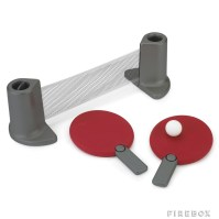Portable Table Tennis Set, including Table and Paddles ...