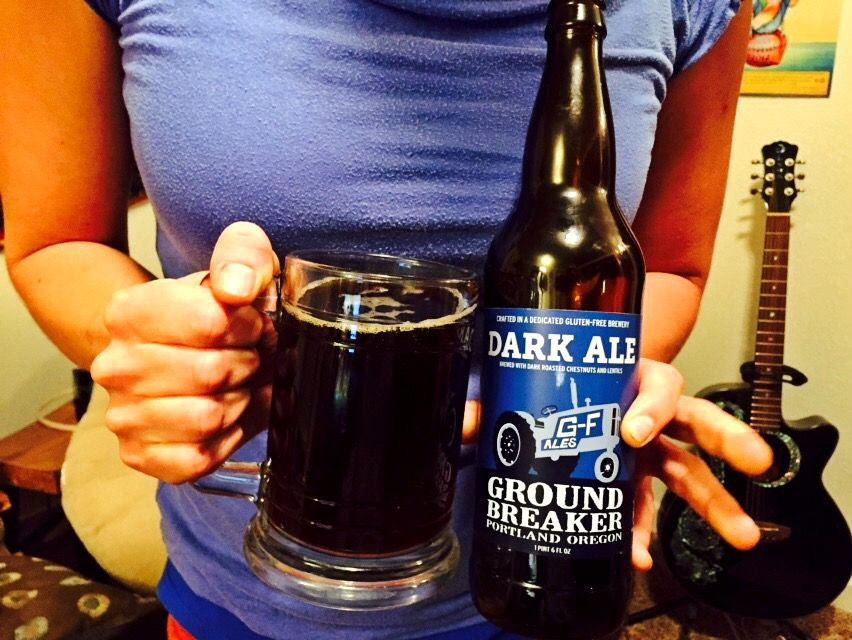 Gluten Free Beer Review: Ground Breaker Dark Ale
