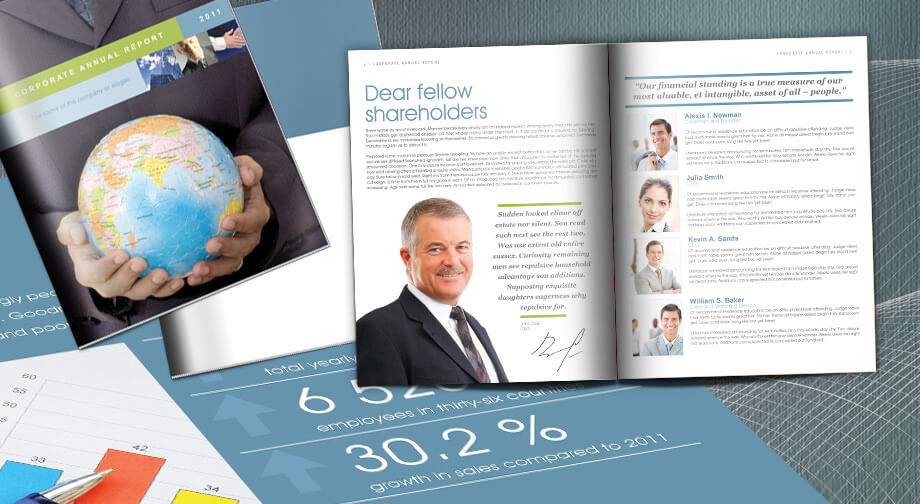Free Annual Report Template in InDesign Download 16 Sample Pages