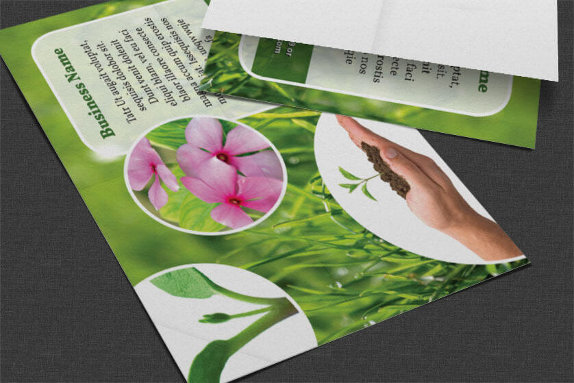 Free InDesign Templates 82 InDesign Files to Download - free landscape flyer templates