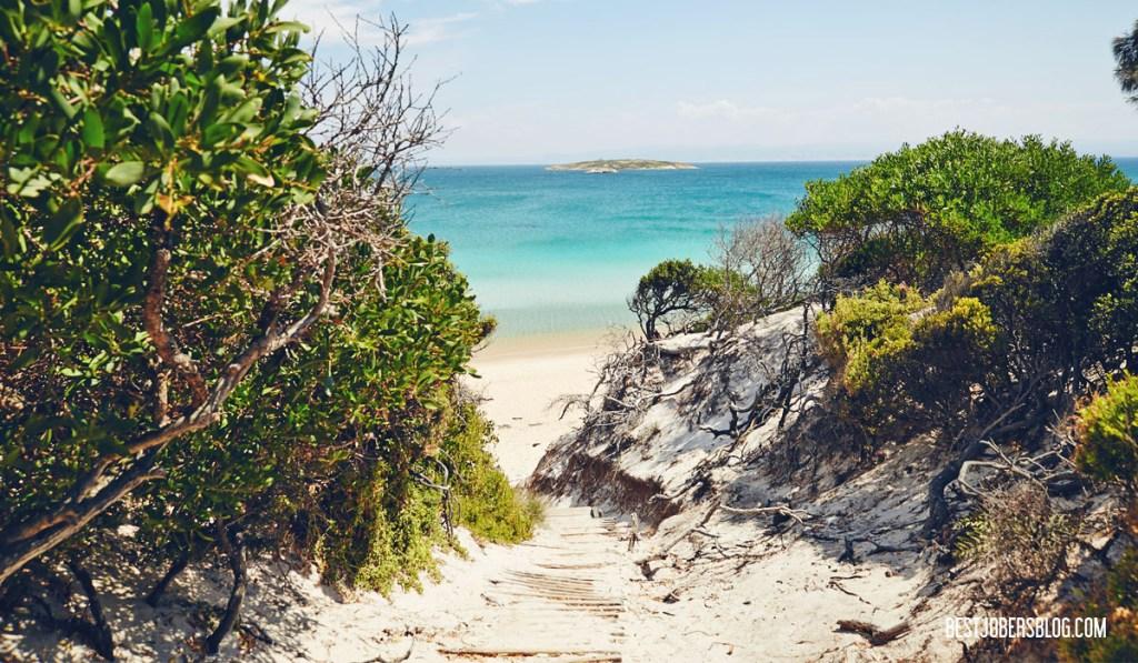 Hazards Beach Tasmanie