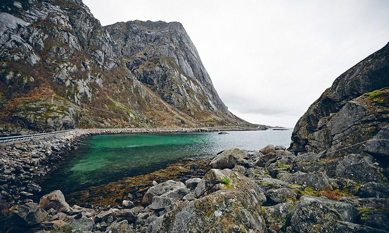 Henningsvaer Norvege