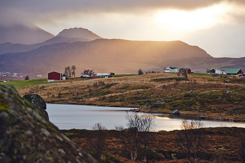 golden hour norvege