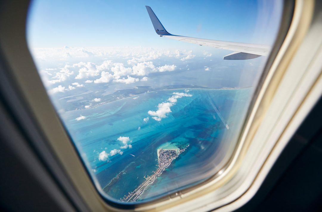 Isla Mujeres vue du ciel