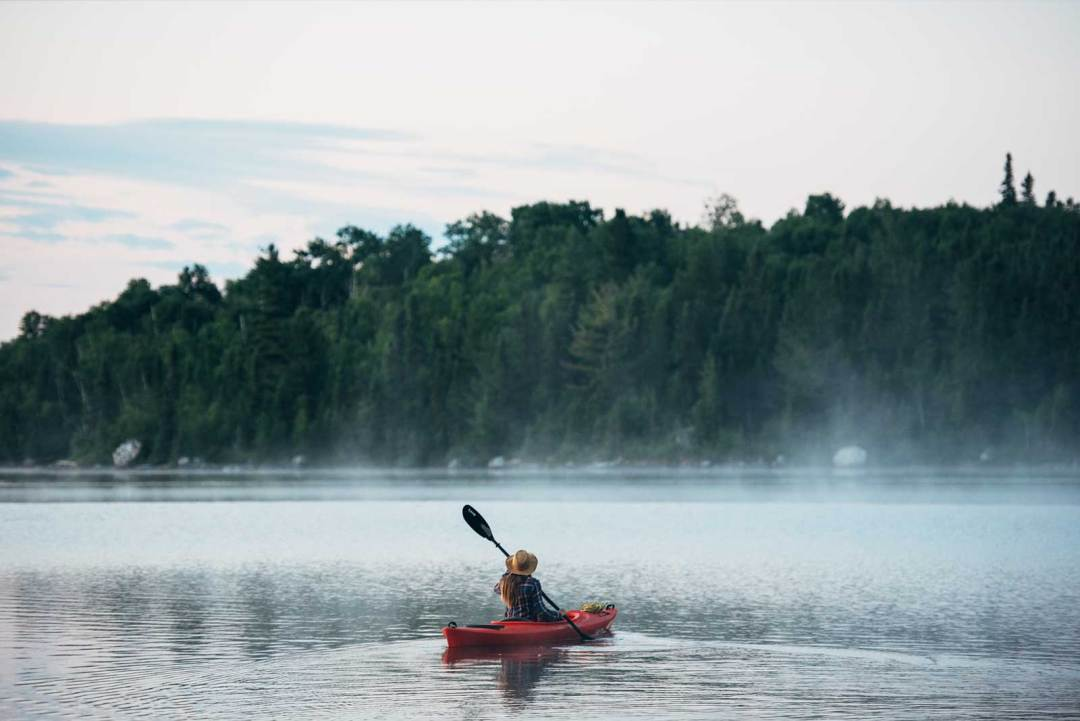 kayak canada lac